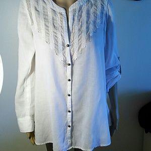 Free  People cotton blouse, size M
